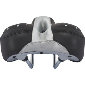 Velo Gel Zone Trekking Saddle Dame black/silver